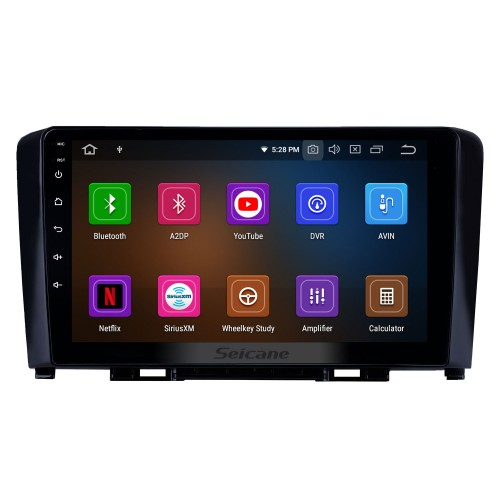 Android 10.0 9 inch GPS Navigation Radio for 2011-2016 Great Wall Haval H6 with HD Touchscreen Carplay Bluetooth WIFI AUX support TPMS Digital TV