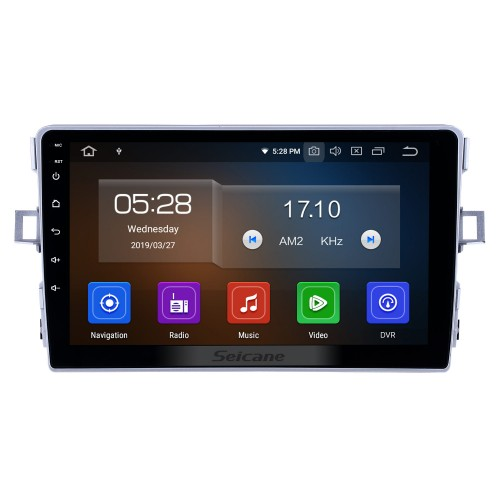 HD Touchscreen 2011-2016 Toyota Verso Android 10.0 9 inch GPS Navigation Radio Bluetooth USB Carplay WIFI AUX support DAB+ OBD2 Steering Wheel Control