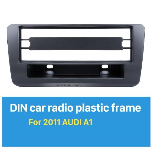 Stylish 1Din 2011 Audi A1 Car Radio Fascia Trim Install Frame Surround Panel Dash Mount Kit