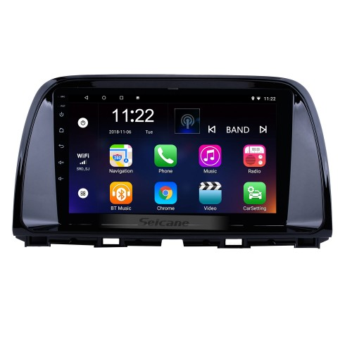 Android 10.0 9 inch 2012-2015 Mazda CX-5 HD Touchscreen GPS Navigation Radio with WIFI Bluetooth Music USB support Carplay OBD2 AUX Backup Camera