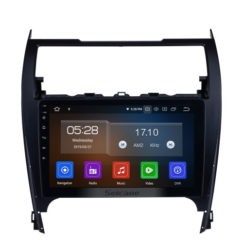 10.1 Inch HD Touch Screen Android 10.0 Car Stereo Radio For 2012-2017 TOYOTA CAMRY GPS Navigation Bluetooth 4G WIFI Support Rear View Camera Steering Wheel Control DVR OBD2 TPMS FM AM 1080P Video