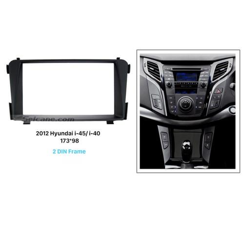 Great Double Din for 2012 Hyundai i-45 i-40 Car Radio Fascia Trim Dash CD Installation Kit Audio frame