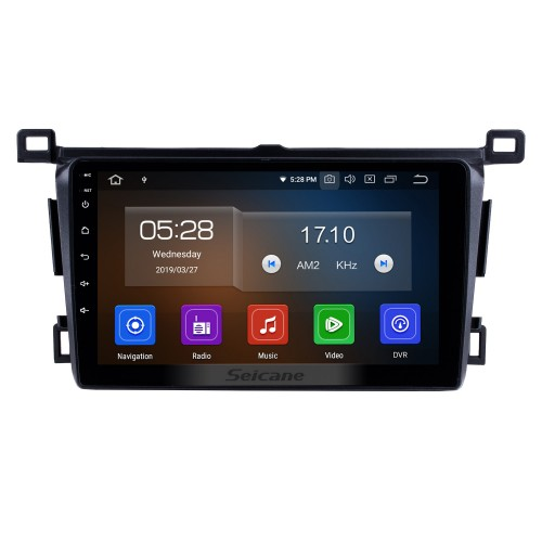 9 Inch Android 10.0 GPS Navigation System Radio For 2013 2014 2015 2016 2017 2018 Toyota RAV4 LHD Support DVD Player Remote Control Bluetooth Touch Screen TV tuner
