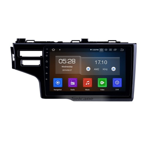 2013-2015 Honda Fit LHD Android 10.0 9 inch GPS Navigation Radio Bluetooth HD Touchscreen USB Carplay support DVR DAB+ OBD2 SWC