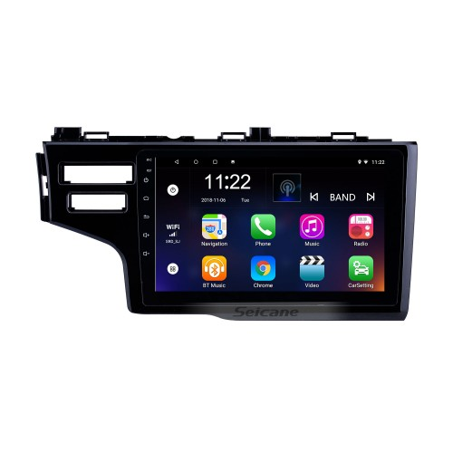 OEM 9 inch Android 10.0 Radio for 2013-2015 Honda Fit LHD Bluetooth HD Touchscreen GPS Navigation support Carplay Rear camera