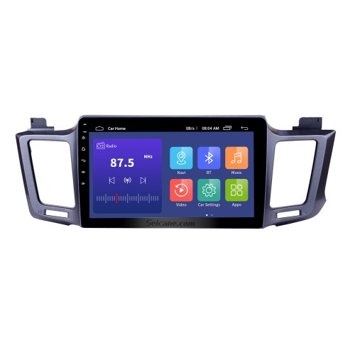 2013-2016 Toyota RAV4 10.1 inch Android 9.0 GPS Sat Nav In Car with Touch Screen 3G WiFi AM FM Radio Bluetooth Music USB support OBD2 DVR TPMS