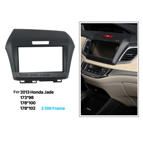 Superior Double Din 2013 Honda Jade Car Radio Fascia Installation frame Trim Dash Kit Auto Stereo Interface