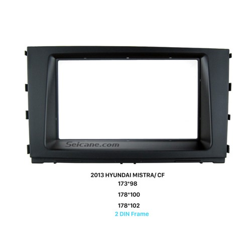 Well Designed Double Din 2013 HYUNDAI MISTRA CF Car Radio Fascia Auto Stereo Adapter Panel Frame Plate CD Trim