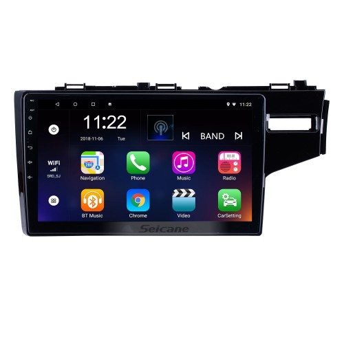 10.1 Inch Android 10.0 for 2014 2015 HONDA JAZZ FIT RHD Radio Bluetooth Touch Screen GPS Navigation Car Stereo Mirror Link Steering Wheel Control 1080P DAB+