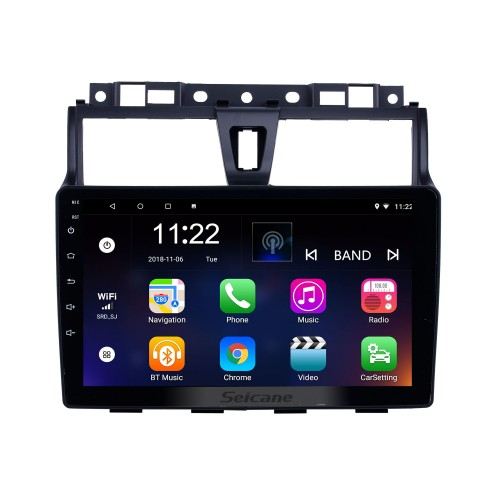 Android 10.0 9 inch HD Touchscreen GPS Navigation Radio for 2014-2016 Geely Emgrand EC7 with Bluetooth AUX support Carplay DVR SWC