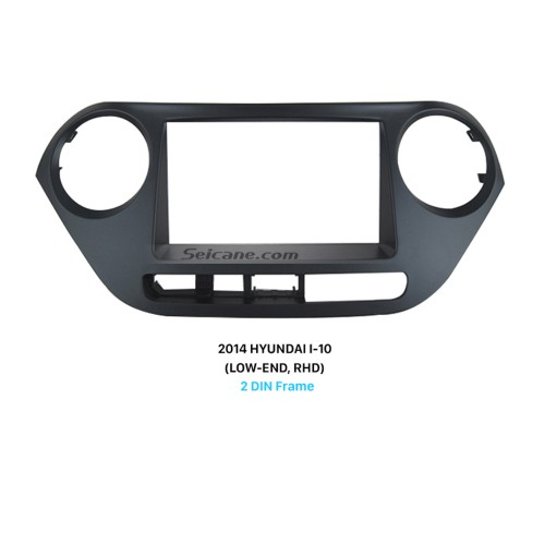 Optimal 2 Din 2014 HYUNDAI I-10 LOW-END RHD Car Radio Fascia Stereo Install DVD Frame Face Plate
