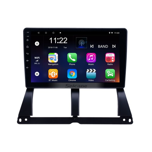 HD Touchscreen 9 inch Android 10.0 GPS Navigation Radio for 2014 Saipa Tiba with Bluetooth AUX WIFI support Carplay TPMS DAB+