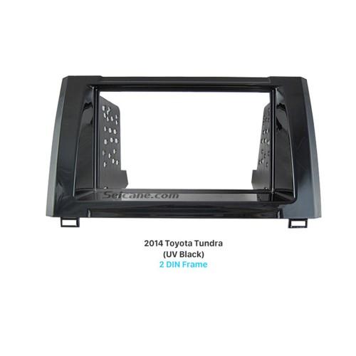 Beautiful Double Din 2014 Toyota Tundra Car Radio Fascia Panel Kit Face Plate Audio Cover Frame