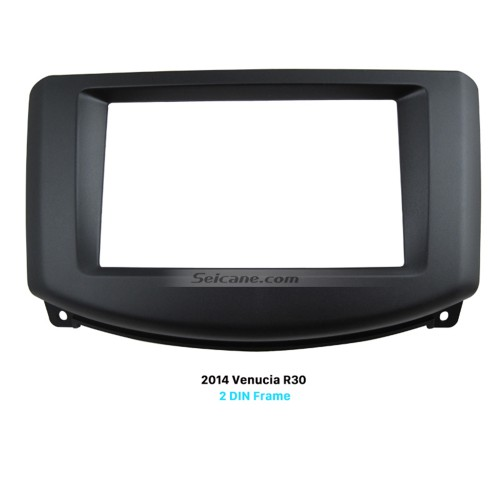 Superb Double Din Car Radio Fascia for 2014 Venucia R30 DVD Frame Trim Kits Dash Mount Stereo Player
