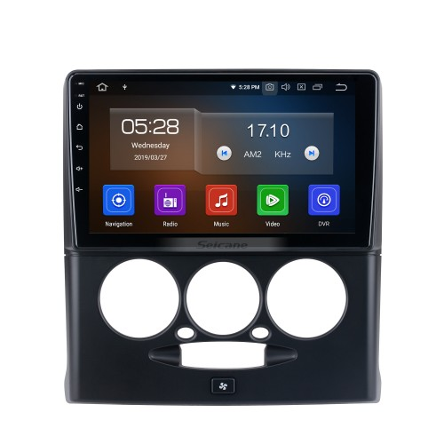Android 10.0 HD Touchscreen 9 inch for 2015-2018 Sepah Pride car Radio with Bluetooth GPS Navigation System Carplay manual air Conditioner