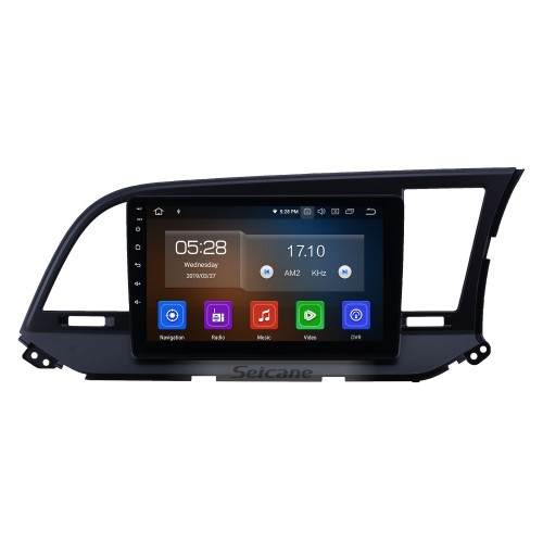 9 inch Android 10.0 GPS Navigation Radio for 2015-2016 Hyundai Elantra RHD with HD Touchscreen Carplay AUX Bluetooth support 1080P