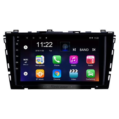 9 inch 1024*600 Touch Screen 2015 2016 VW Volkswagen Lamando Android 10.0 Radio with Bluetooth 3G WiFi OBD2 Mirror Link 1080P Steering Wheel Control Rearview Camera