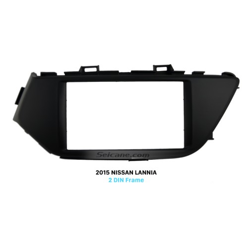 Latest Double Din 2015 NISSAN LANNIA Low End Car Radio Fascia CD Trim Installation Panel Face Plate Audio Cover Frame