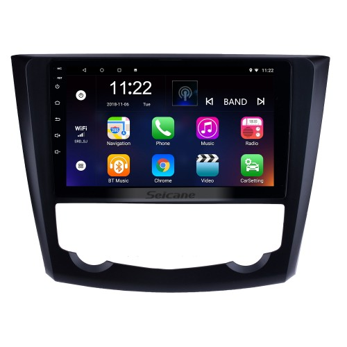 9 inch 2016 2017 Renault Kadjar Android 10.0 HD Touchscreen Auto radio GPS Navigation Bluetooth Car Stereo TV Tuner Rearview Camera AUX IPOD MP3