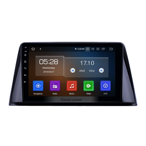 Android 10.0 9 inch GPS Navigation Radio for 2016-2018 Peugeot 308 with HD Touchscreen Carplay Bluetooth WIFI support TPMS OBD2