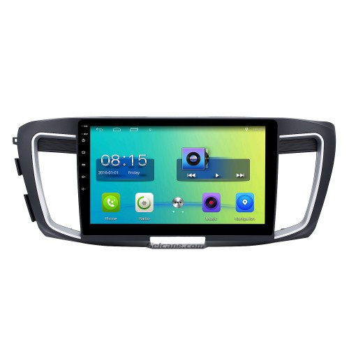 10.1 inch HD Touch Screen Android 6.0 Car Stereo for 2016 Honda accord 9 (2.0L) GPS Navigation with Radio Bluetooth Music USB DVR 3G WIFI Mirror link Steering Wheel Control 1080P Video Canbus