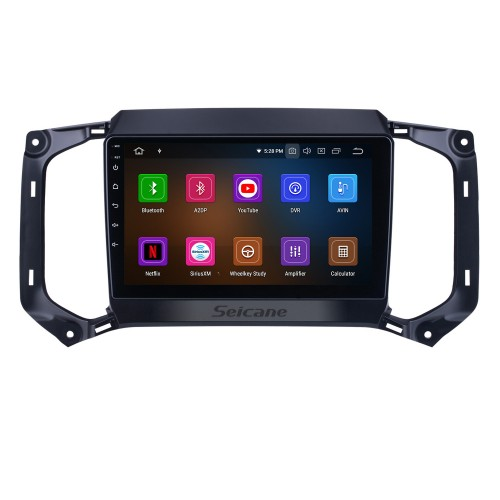 OEM Android 10.0 for 2017 Chevy Chevrolet Colorado Radio with Bluetooth 9 inch HD Touchscreen GPS Navigation System Carplay support DSP