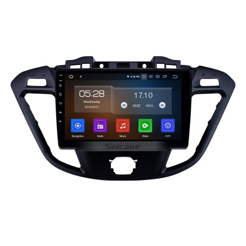 Android 10.0 9 inch 2017 Ford JMC Tourneo High Version Multimedia GPS Navi Radio Bluetooth Wifi Carplay support RDS TPMS DVD 1080P Mirror Link