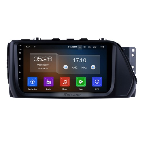 OEM Android 10.0 HD Touchscreen 2017 Hyundai VERNA 9 inch GPS Navi Radio Head unit with USB FM Steering Wheel Control Bluetooth music support DVR Digital TV 1080P Video Backup Camera OBD