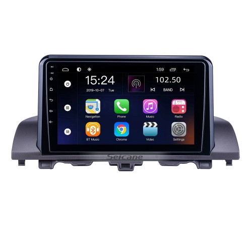 For 2018 Honda Accord Radio Android 10.0 HD Touchscreen 9 inch GPS Navigation System with WIFI Bluetooth support Carplay DVR
