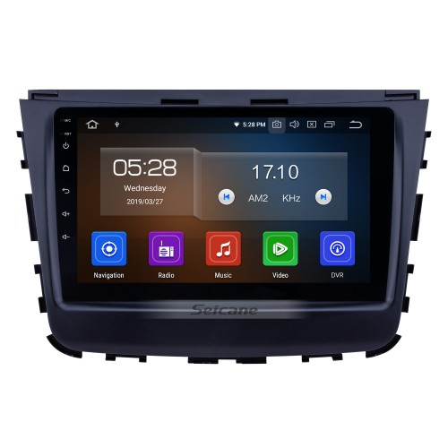 2018 Ssang Yong Rexton Android 10.0 9 inch GPS Navigation Radio Bluetooth AUX HD Touchscreen USB Carplay support TPMS DVR Digital TV Backup camera