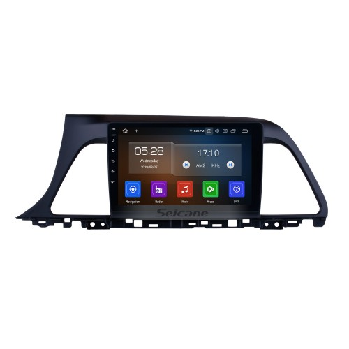 9 Inch  HD Touch Screen for 2015 2016 2017 Hyundai sonata Android 9.0 Radio GPS Navigation with Rearview Camera Digital TV Steering Wheel Control Wifi Bluetooth Music