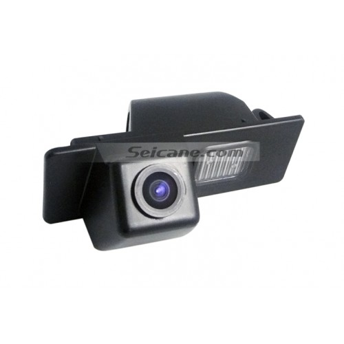 HD Wired Car Parking Backup Reversing Camera for Cadillac SRX Waterproof Blue Ruler Night Vision free shipping