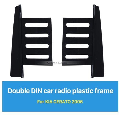 178*100mm 2Din Car Radio Fascia for 2006 KIA CERATO Installation Kit CD Trim Surround Panel DVD Frame