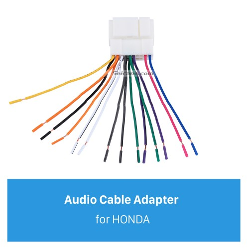 High-quality Wiring Harness Adapter Audio Plug Cable for HONDA Accord 2.4L/Odyssey/FIT/CITY/New Premacy/Ne/w Family/Buick Excelle/Old Epica/Buick GL8/Suzuki