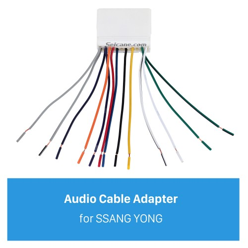 High-quality Sound Audio Cable Plug Adapter for SSANG YONG