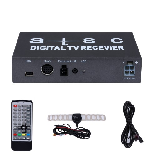 Built-in Digital TV Tuner ATSC For Seicane car dvd player