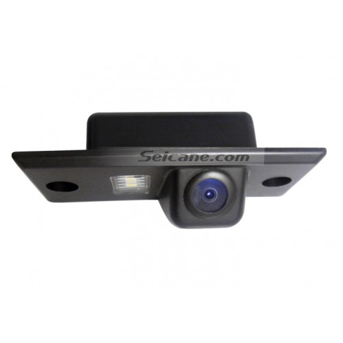 170° HD Waterproof Blue Ruler Night Vision Car Rearview Camera for 2008- 2010 Volkswagen Touareg free shipping