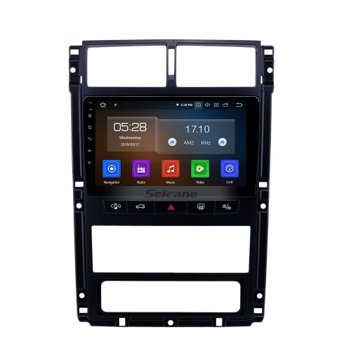 Android 10.0 9 inch GPS Navigation Radio for Peugeot 405 with HD Touchscreen Carplay USB AUX Bluetooth support DAB+ DVR OBD2