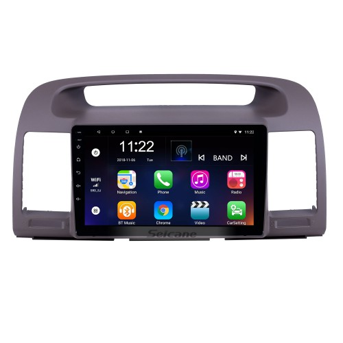 HD Touchscreen 9 inch Android 10.0 GPS Navigation Radio for 2000-2003 Toyota Camry with Bluetooth AUX support Carplay DAB+ OBD