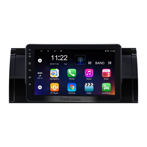 8 inch Android 10.0 2002-2004 BMW 5 Series E39 520i 523i 525i M5 BMW 7-serie E38 BMW X5 E53 BMW M5 Range Rover GPS Navigation Radio with Touchscreen Bluetooth USB AUX WIFI support TPMS Digital TV Carplay