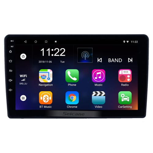 Android 10.0 9 inch Touchscreen GPS Navigation Radio for 2002 Toyota Vios with Bluetooth USB WIFI support Carplay SWC Rear camera OBD2 DAB+