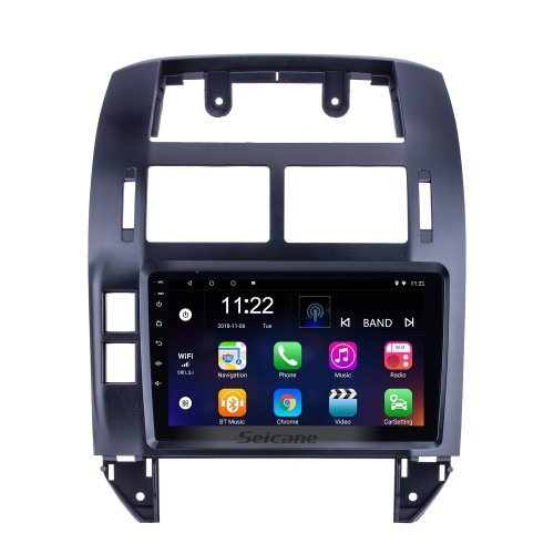 OEM 9 inch Android 10.0 for 2004 2005 2006-2011 VW Volkswagen Polo Radio Bluetooth HD Touchscreen GPS Navigation System support Carplay