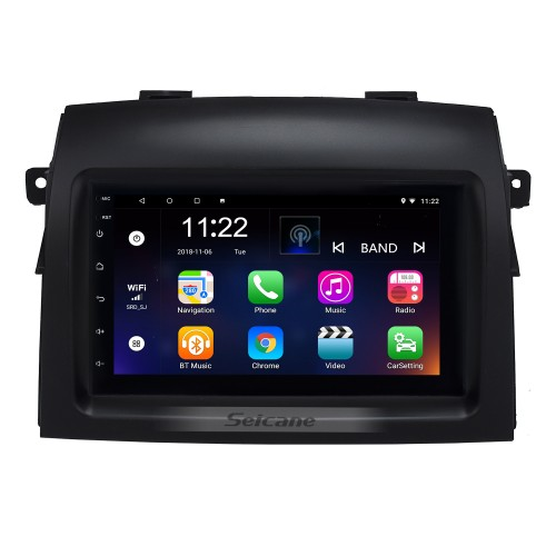Android 10.0 7 Inch HD Touchscreen 2 Din Radio Head Unit For 2004-2010 Toyota Sienna GPS Navigation System Bluetooth Phone WIFI Support 1080P Video USB Steering Wheel Control Backup Camera
