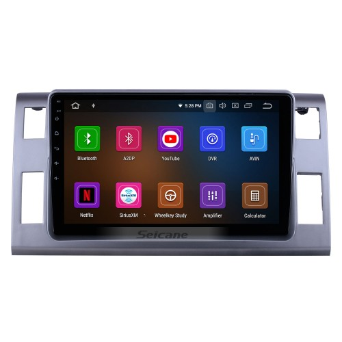 Android 10.0 For 2006 Toyota Previa/Estima/Tarago Radio 10.1 inch GPS Navigation System Bluetooth HD Touchscreen Carplay support SWC