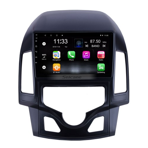 Android 10.0 9 inch for 2008 2009 2010 2011 Hyundai i30 LHD Auto A/C Radio HD Touchscreen GPS Navigation System with Bluetooth support Carplay DVR