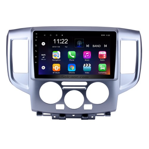 Android 10.0 2009-2016 NISSAN NV200 Radio Upgrade with GPS Navigation Car Stereo Touch Screen Bluetooth Mirror Link OBD2 AUX 3G WiFi DVR 1080P Video