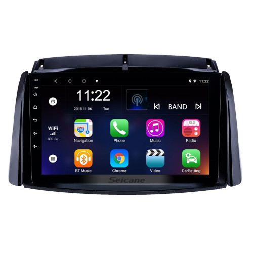 2009-2016 Renault Koleos Android 10.0 HD Touchscreen 9 inch Head Unit Bluetooth GPS Navigation Radio with AUX support OBD2 SWC Carplay