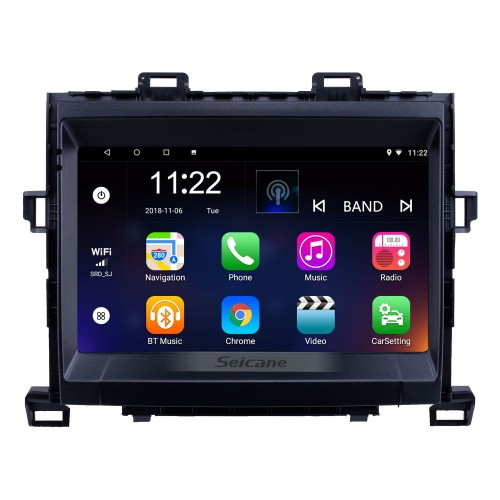 HD Touchscreen 9 inch Android 10.0 GPS Navigation Radio for 2009-2014 Toyota Alphard/Vellfire ANH20 with Bluetooth AUX support Carplay DAB+ DVR