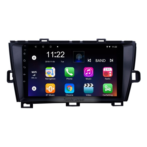 OEM 9 inch Android 10.0 Radio for 2009-2013 Toyota Prius RHD Bluetooth HD Touchscreen GPS Navigation support Carplay Rear camera