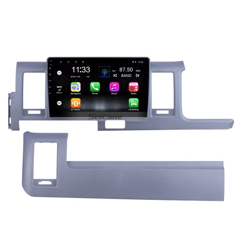 OEM 10.1 inch Android 10.0 for 2010 2011 2012-2018 Toyota Hiace RHD Radio Bluetooth HD Touchscreen GPS Navigation System support Carplay